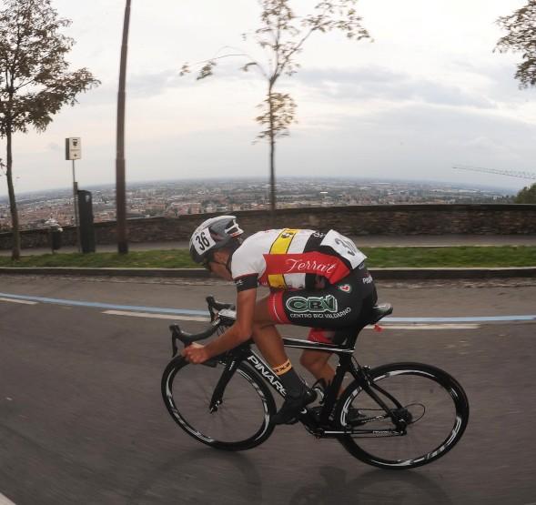 Gabriele Benedetti in azione (Foto Rodella)