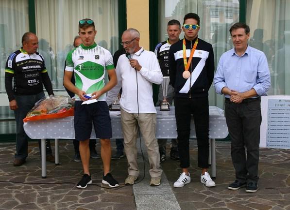 Premiazione Marco Vergani (Foto Berry)