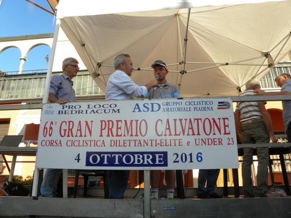 Bertolotti intervista il vincitore Simone Consonni (Nastasi)