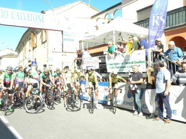 Sindaco Piccinelli pronto a dare il via alla corsa (Nastasi)