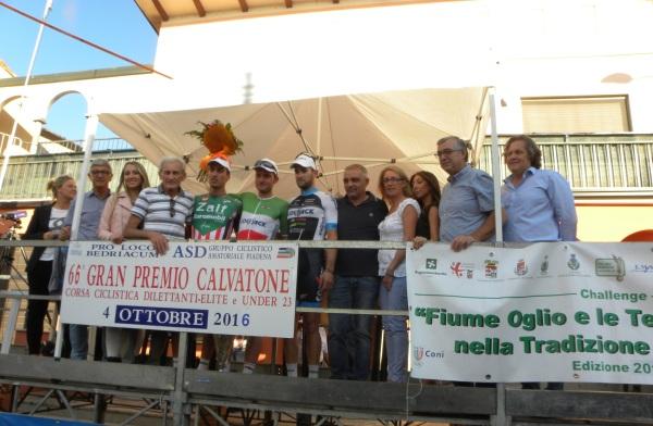 Podio con Ruggeri, Sindaco e Corrado Lodi (Foto Nastasi)