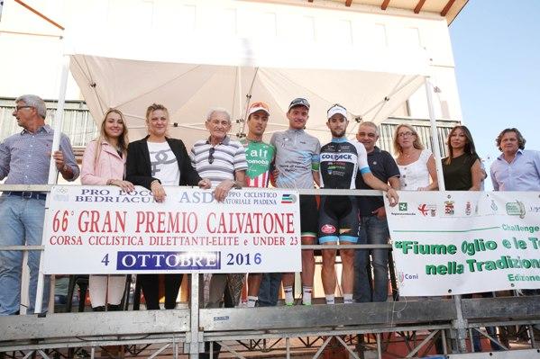 Podio con Sindaco e Ruggeri (Foto Soncini)