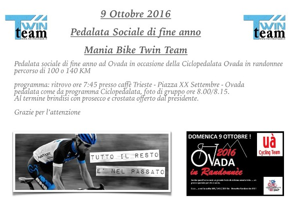 05.10.16 - Invito Pedalata Mania Bike