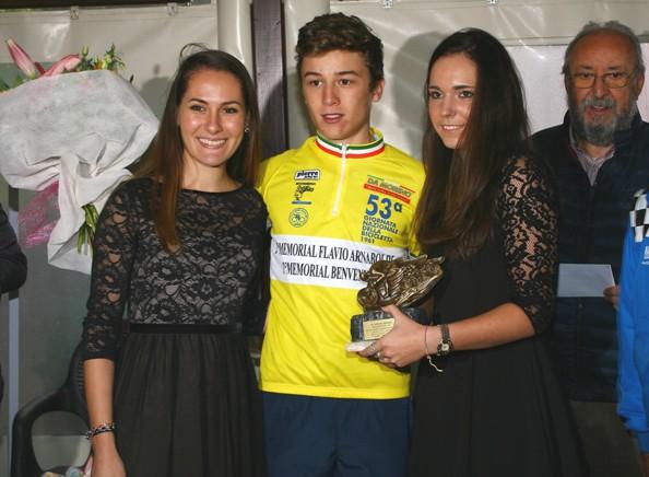 Premiazione di Andrea Bagioli (Foto Berry)