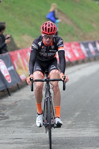 Stefano Bertoletti 2° classificato a Mongrando (Foto Kia)