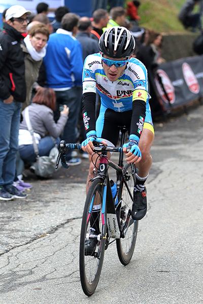 Marco Murgano 3° classificato a Mongrando (Foto Kia)