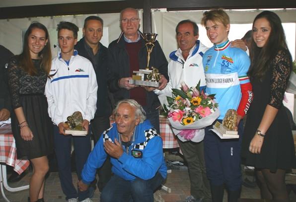 Premiazione del Team Giorgi (Foto Berry)