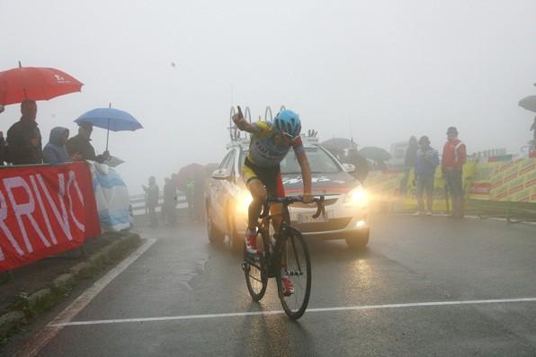 Karel Vacek vince sulla Colma di Sormano (Foto Berry)