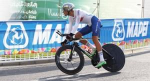 Filippo Ganna nella cronoindividuale U23 (Foto Rodella)