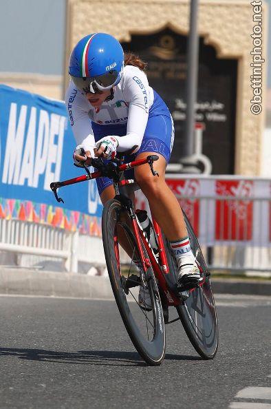 Lisa Morzenti in azione a Doha