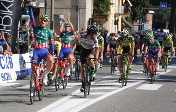 La vittoria di Maronese nel 2015