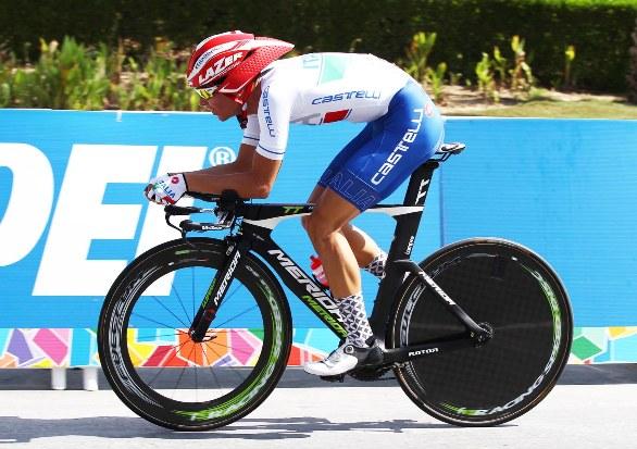 Alessandro Covi in azione (Foto Rodella)