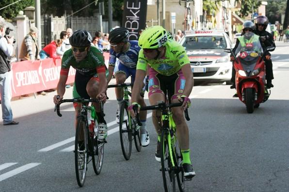 Fase di gara con Matteo Grassi (Foto Pisoni)