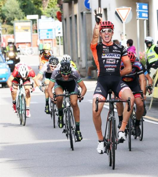 Gabriele Moreni vince il 39° Trofeo Caduti Besnatesi (Foto Soncini)