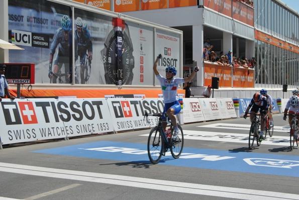 La vittoria della donna junior Elisa Balsamo (Foto di Roberto Miserocchi)