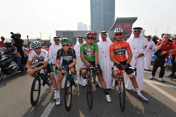 Abu Dhabi cycling race second stage