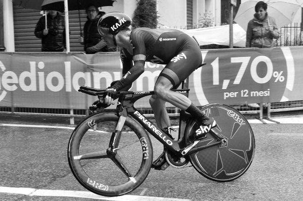 98° Giro d'Italia 2015 14° tappa Cronometro Treviso-Valdobbiadene vincitore Kiryienka Vasil
