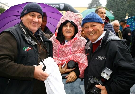 da sx, Kia Giuseppe Castelli, Gabriella e Gianfranco Soncini (Foto Berry)