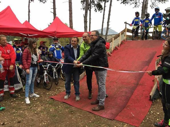 Inaugurazione pista BMX ad Avezzano