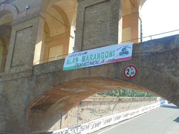 Presente anche il Fans Club Marangoni (Foto Miserocchi)