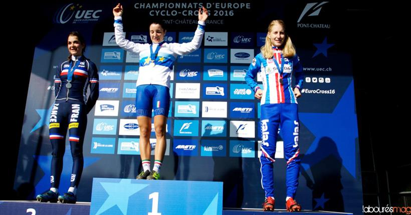 Chiara Teocchi Campionessa d'Europa