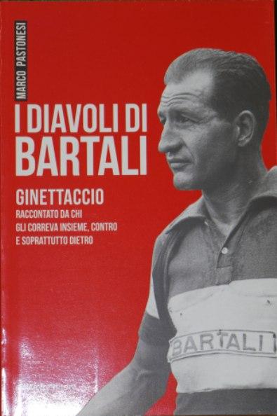 """Copertina d """"I Diavoli di Bartali"""" di Marco Pastonesi (Foto di Kia Castelli)"""