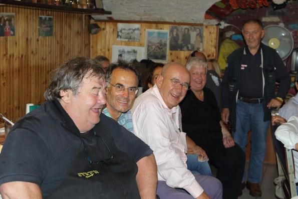 Da sx, Gabrio, Pastonesi, Figini ed altri (Foto di Kia Castelli)
