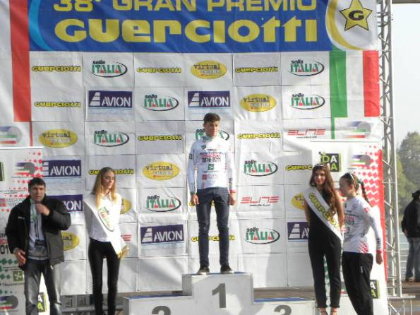 Carollo, leader provvisorio classifica generale juniores (Foto Nastasi)