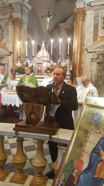 L'Altare del Santuario di Santa Lucia alla Castellina