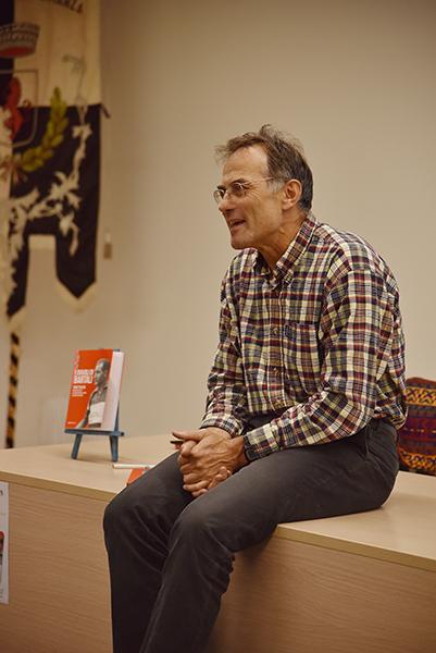 Marco Pastonesi presentazione suo libro I Diavoli di Bartali (Foto Kia Castelli)