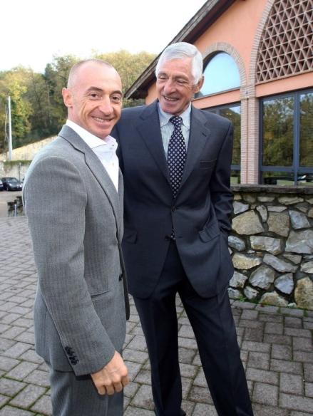 Francesco Moser e Yuri Chechi