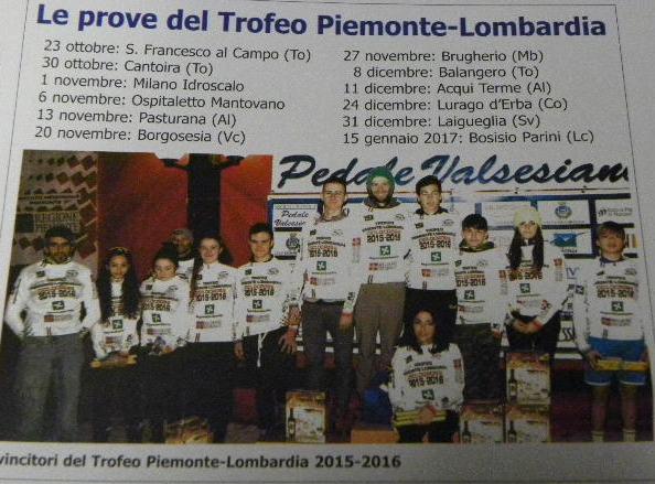 06.11.16 - Elenco prove Trofeo Piemonte-Lombardia 2016-2017