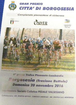 06.11.16 - Locandina GP Citta di Borgosesia