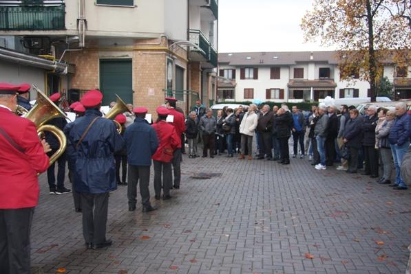 Il Corpo Bandistico Santa Ceciclia di Rescaldina (Foto Emanuele Ferrato)