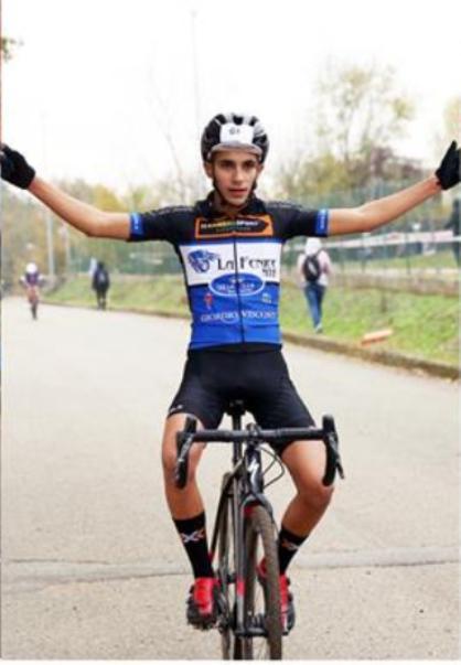 Alessandro Minguzzi  vincitore gara Allievi 1^ anno. (Foto Soncini)