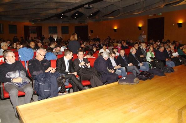 L'Auditorium della BCC di Busto Garolfo e Buguggiate (Foto Berry)