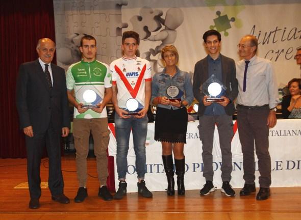 GB Junior Team alle premiazioni (Foto Berry)