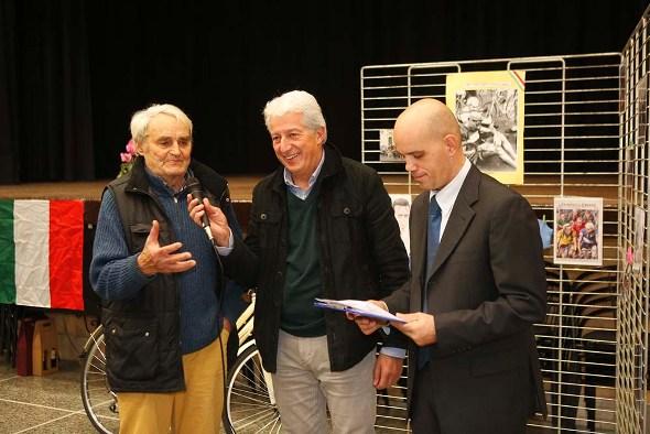 Imerio Massignan Ospite d'onore a Viguzzolo (Foto Pisoni)