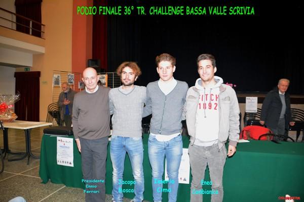 Podio finale  Bassa Valle Scrivia 2016