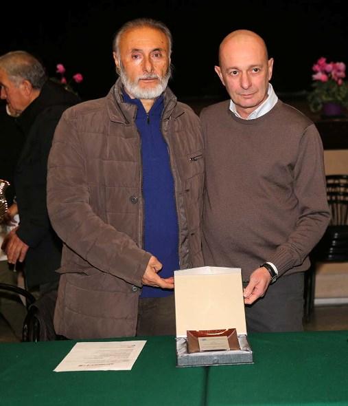 Da sx, Presidente FCI-AL Boris Bucci e Ferrari Enio presidente GS Bassa Valle Scrivia (Foto Pisoni)