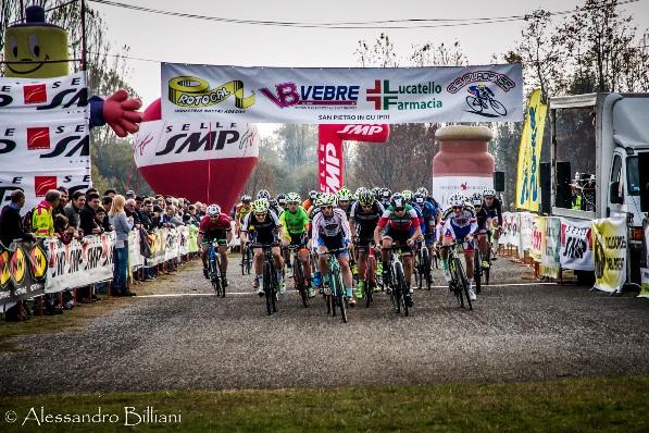 Partenza gara di Tezze sul Brenta (Foto Billiani)