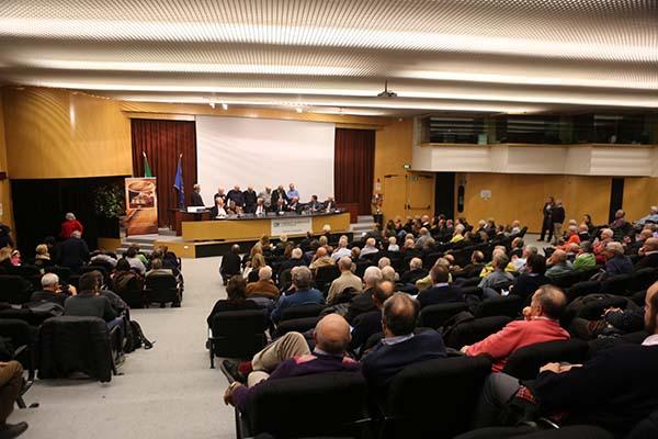 Sala Congressi del Centro Cavagnari a Parma il 24.11.2016 (Foto Pisoni)