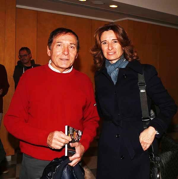 """Bruno Sueri, Direttore del mensile """"Ciclismo Illustrato"""" con Norma Gimondi candidata alla presidenza della FCI (Foto Pisoni)"""