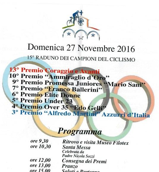 25.11.2016 - 2 interno - Locandina 13^ Festa Cpraggio e Avanti