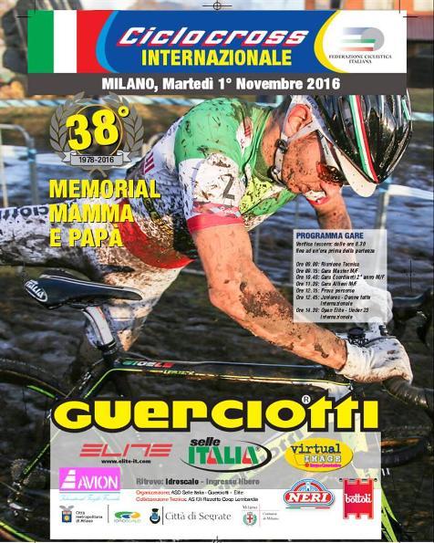 29.10.16 - LOCANDINA 38^ MEMORIAL MAMMA E PAPA^ GUERCIOTTI