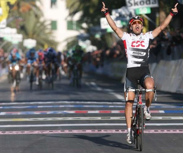 Fabian Cancellara vincitore a Sanremo (Foto di Fabrizio Delmati)