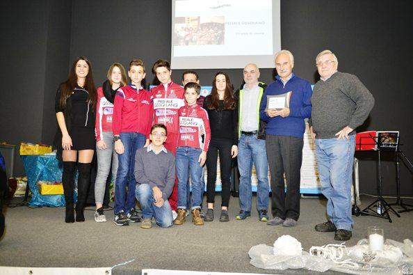 Premiazione del Pedale Ossolano (Foto Comunicato Stampa)
