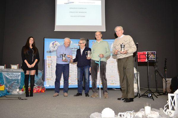 Premiazione dei Volontari Angelo Capella, Italo De Marchi e Felice Ottone (Foto Comunicato Stampa)