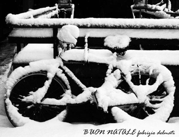 Il Buon Natale fotografico dall'Amico Fabrizio Delmati a tutti i Lettori di www.pedaletricolore.it
