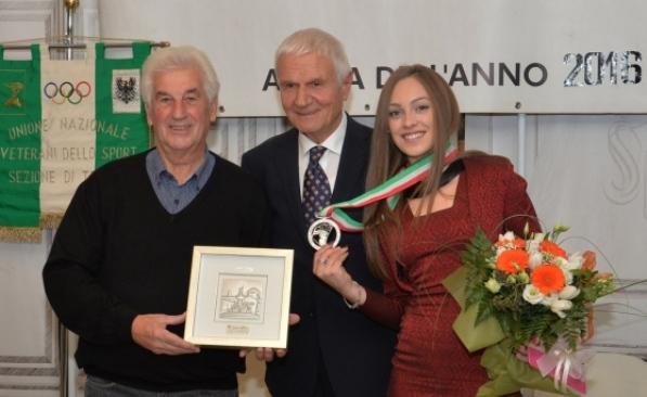 Da sx, Remo Mosna, Enrico Negriolli e Letizia Paternoster (Foto Mosna)